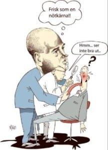 Du är frisk enligt Reinfeldt