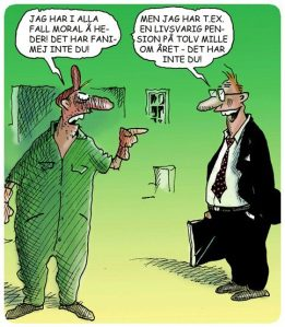 Avseende pension