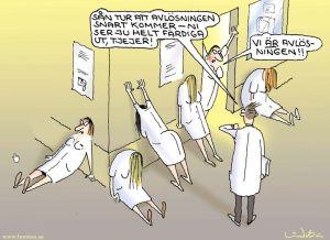 sjukvården kaos