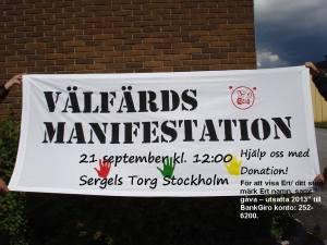 välfärdsmanifestationen 2013
