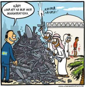 Vapen till diktaturer