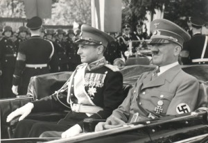 Adolf_Hitler och Prince Paul of Yugoslavia