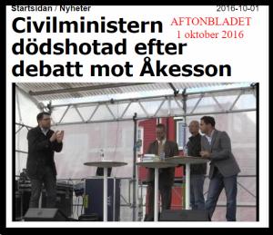 1_okt_2016_civilministern_dodshotad_efter_debatt_mot_akesson_nyheter_aftonbladet_57ef7b70ddf2b31788ee9c5b